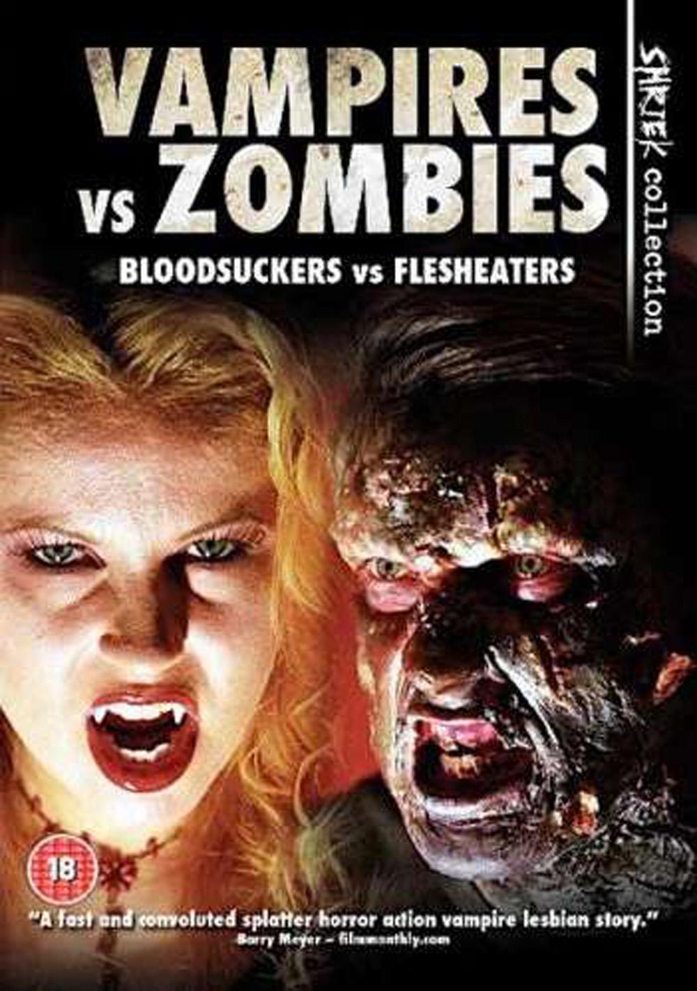 Vampires vs Zombies  Zombie Vs Vampire Vs Werewolf