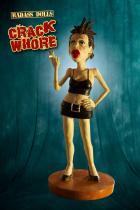 Crack Whore Resin Statue