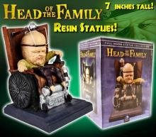 Head of the Family Resin Statue