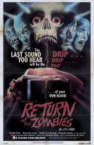 Return of the Zombies</br>(retro poster)