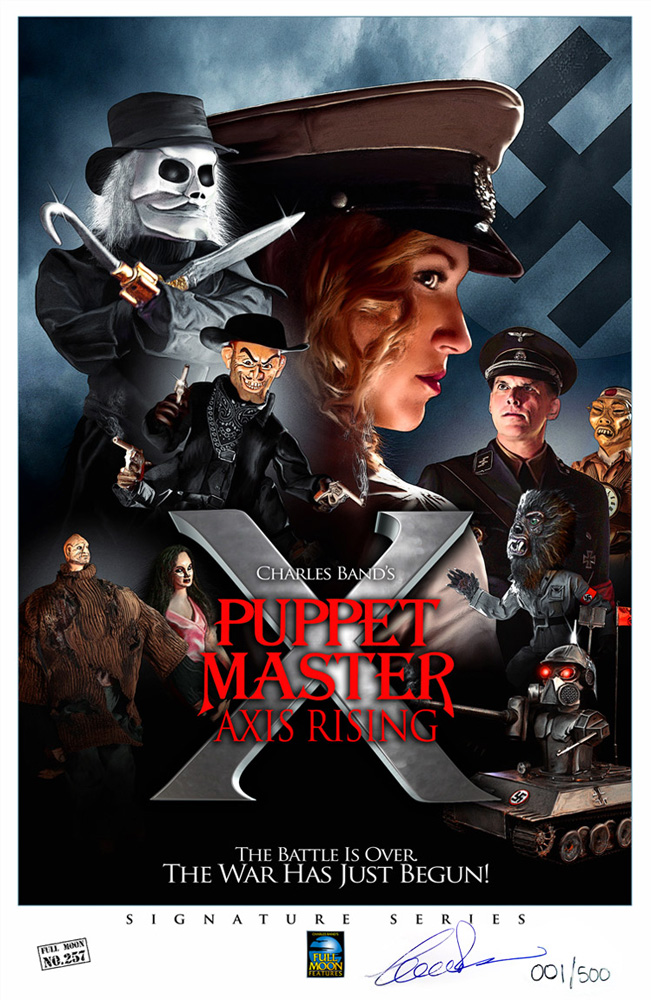 Puppet Master X</br>(signed print)
