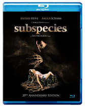 Subspecies</br>Blu-ray (NTSC region A)