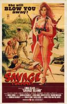 Savage Island</br>(retro poster)