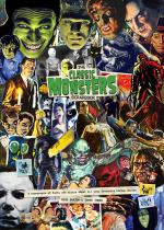 Classic Monsters Scrapbook