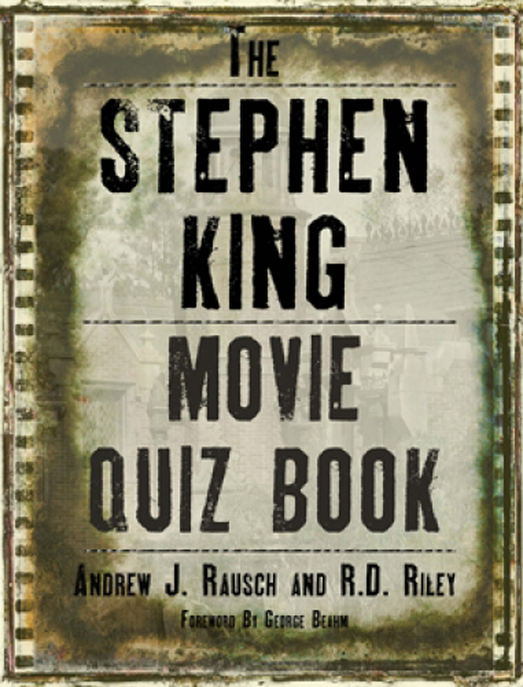 Stephen King Movie Quiz Book