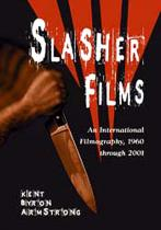 Slasher Films: An International Filmography, 1960 Through 2001.